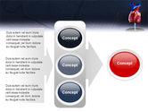 Heart Model PowerPoint Template#11