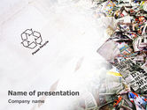 Nature & Environment: Recycle Industry PowerPoint Template #01961