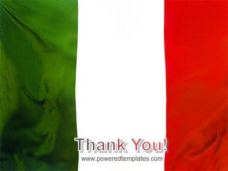 Italian Flag PowerPoint Template Slide 20