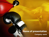 Sports: Modelo do PowerPoint - treinamento de boxe #01965