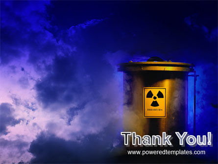 Nuclear Waste PowerPoint Template Slide 20