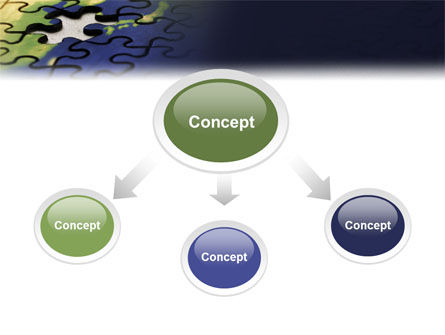 Puzzle of World PowerPoint Template Slide 4