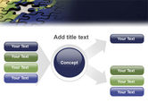 Puzzle of World PowerPoint Template#14