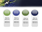 Puzzle of World PowerPoint Template#5