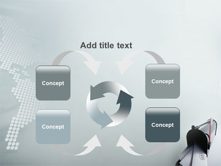 Mail Box PowerPoint Template Slide 6