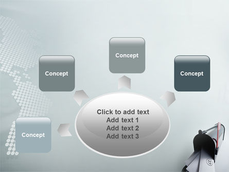 Mail Box PowerPoint Template Slide 7
