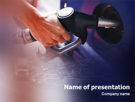 Fuel PowerPoint Template, 01978, Business — PoweredTemplate.com