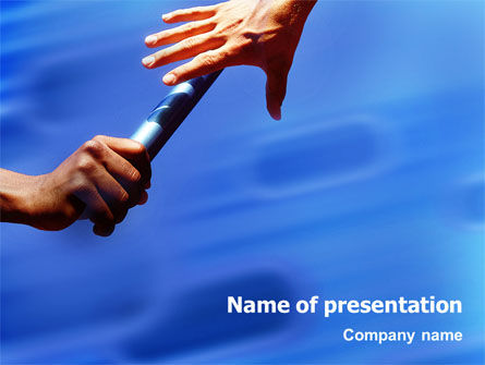 Business Concepts: Succession PowerPoint Template #01980