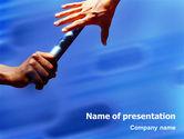 Business Concepts: Modèle PowerPoint de succession #01980