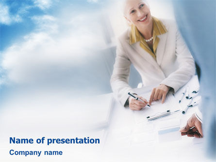 Professional Testing PowerPoint Template, 01982, Consulting — PoweredTemplate.com
