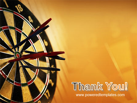 Darts PowerPoint Template Slide 20
