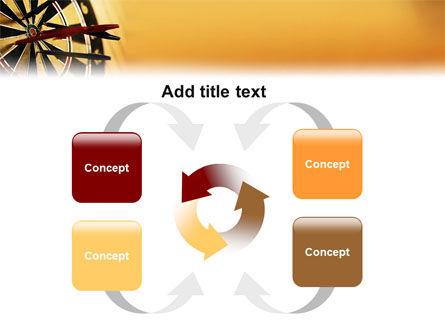 Darts PowerPoint Template Slide 6
