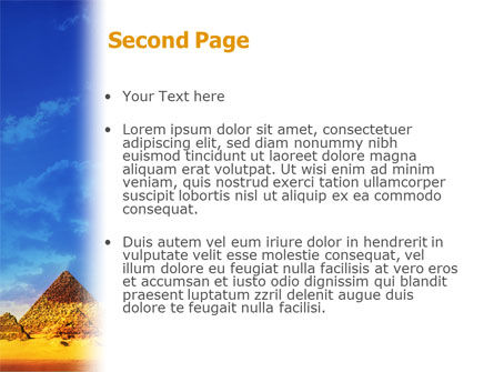 Pyramids PowerPoint Template Slide 2