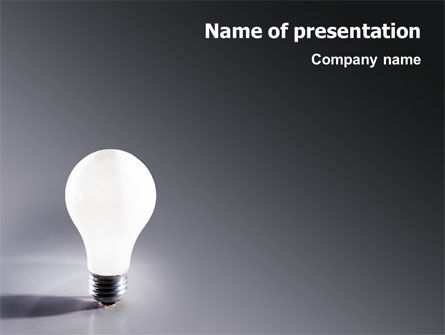 Business Concepts: Idea PowerPoint Template #01989