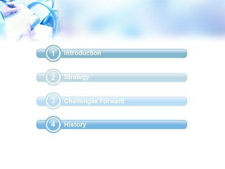 Business Analyst At Work PowerPoint Template, Slide 3, 01990, Business — PoweredTemplate.com