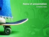 Sports: Skateboard PowerPoint Template #01993