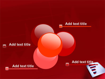 Red Histogram PowerPoint Template Slide 10