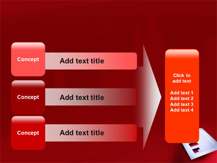 Red Histogram PowerPoint Template Slide 12