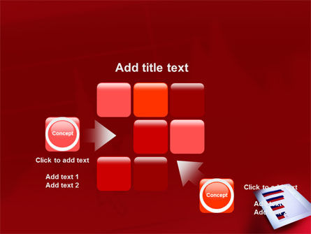 Red Histogram PowerPoint Template Slide 16