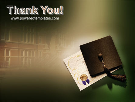 Diploma PowerPoint Template Slide 20