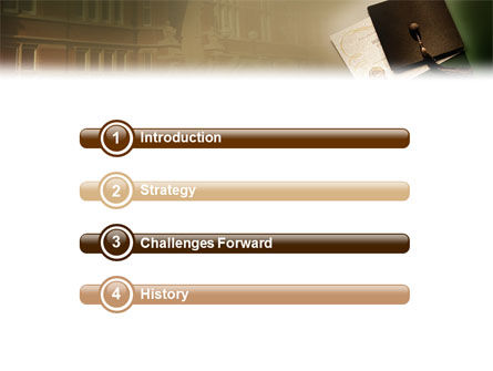 Diploma PowerPoint Template, Slide 3, 01997, Education & Training — PoweredTemplate.com