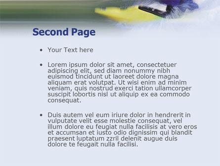Kayak PowerPoint Template, Slide 2, 01998, Sports — PoweredTemplate.com