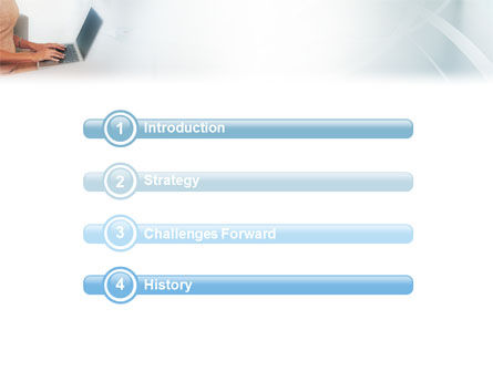 Secretary PowerPoint Template, Slide 3, 01999, Business — PoweredTemplate.com