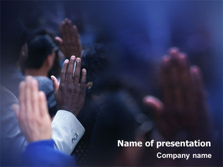 People: Voting PowerPoint Template #02001