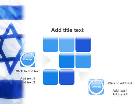 Flag of Israel PowerPoint Template Slide 16
