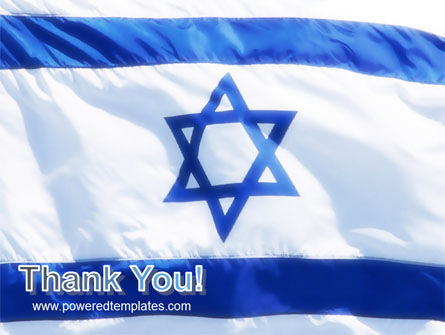 Flag of Israel PowerPoint Template Slide 20