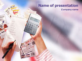 Financial/Accounting: Discount PowerPoint Template #02004