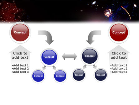 Astronomical Research PowerPoint Template Slide 19