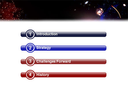 Astronomical Research PowerPoint Template Slide 3