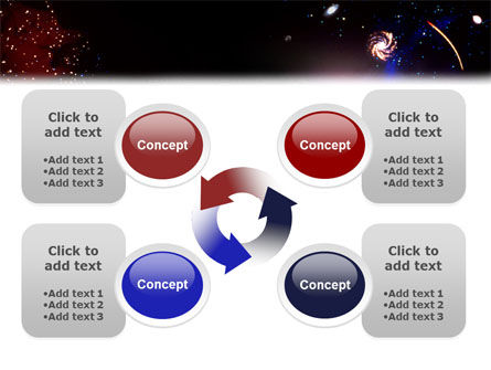 Astronomical Research PowerPoint Template Slide 9