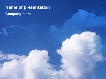 Cloudy Sky PowerPoint Template