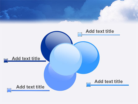Cloudy Sky PowerPoint Template Slide 10