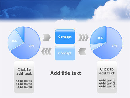 Cloudy Sky PowerPoint Template Slide 11