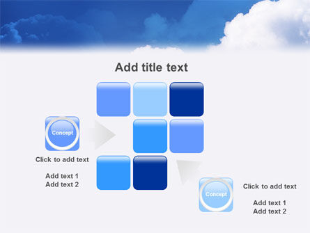 Cloudy Sky PowerPoint Template Slide 16