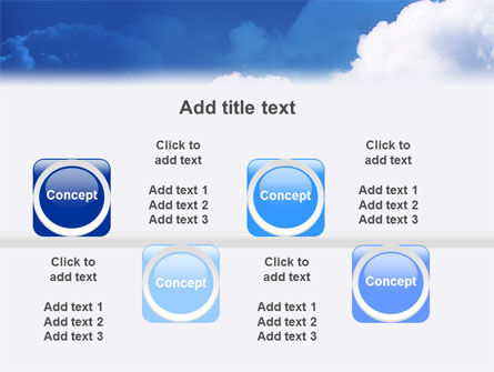 Cloudy Sky PowerPoint Template Slide 19