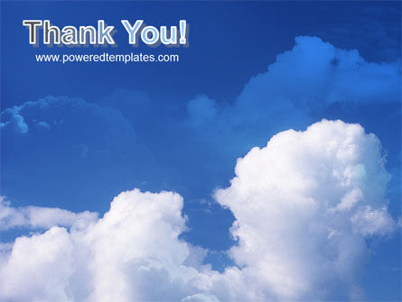 Cloudy Sky PowerPoint Template Slide 20