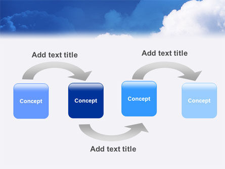 Cloudy Sky PowerPoint Template, Slide 4, 02006, Nature & Environment — PoweredTemplate.com