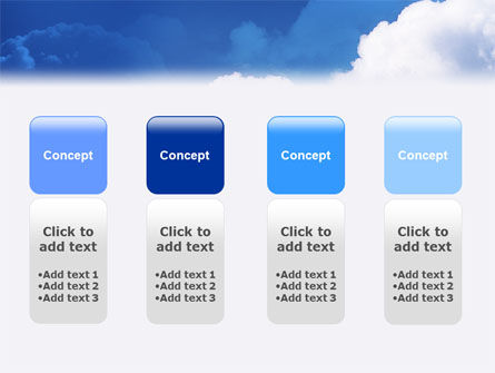 Cloudy Sky PowerPoint Template Slide 5