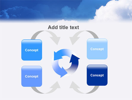 Cloudy Sky PowerPoint Template Slide 6