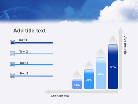 Cloudy Sky PowerPoint Template Slide 8