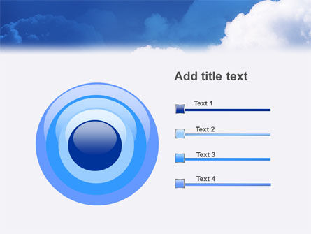 Cloudy Sky PowerPoint Template Slide 9