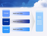 Cloudy Sky PowerPoint Template#12