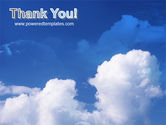 Cloudy Sky PowerPoint Template#20