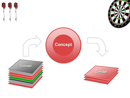 Darts And Target PowerPoint Template Slide 4
