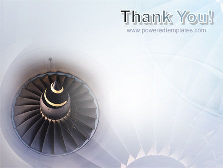 Turbojet Engine PowerPoint Template Slide 20