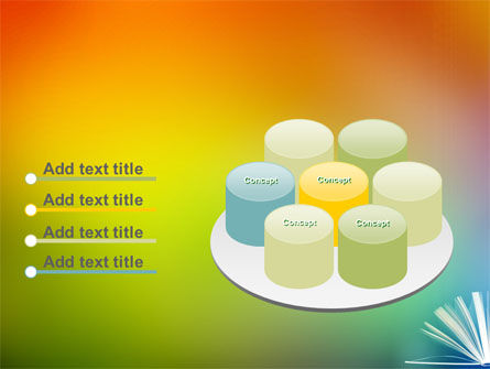 Book PowerPoint Template Slide 12